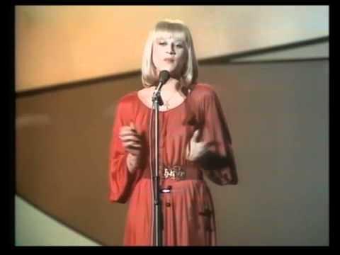 """CATHERINE FERRY - Eurovision 1976 """"un, deux, trois"""""""