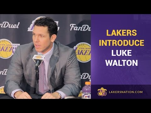 Lakers Introduce Luke Walton (Press Conference In Full)