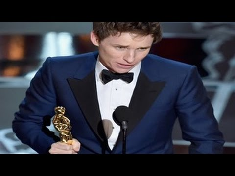 Eddie Redmayne Wins The Oscar for the Best Actor  Category