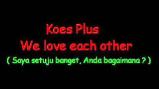 Koes Plus - Vol 5 - We Love Each Other