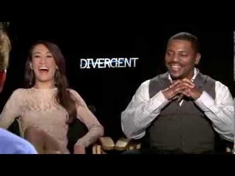 Maggie Q & Mekhi Phifer on the dangerous world of 'Divergent'