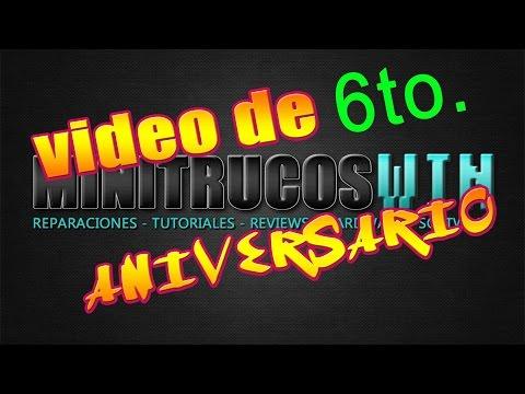 6to. Aniversario de MINITRUCOSWIN