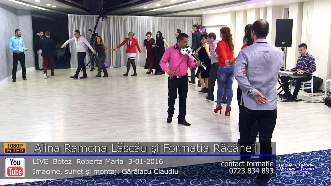 Alina Ramona Lăscău si Formatia Racaneii Colaj SARBA LIVE part.2 Botez Roberta Maria 3-01-2016