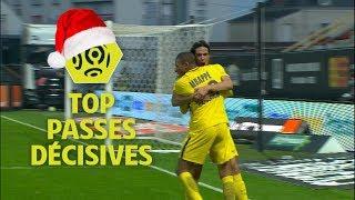 Top 5 passes décisives | mi-saison 2017-18 | Ligue 1 Conforama