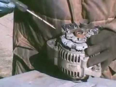 Honda Accord Alternator Removal and Repair
