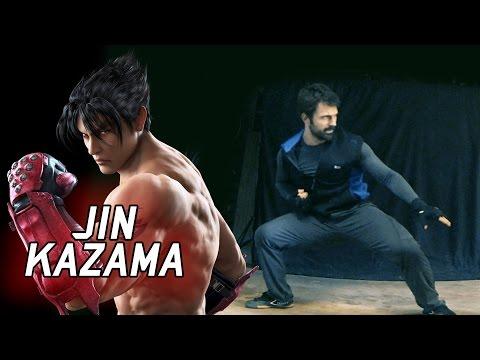 Real Life Tekken - JIN KAZAMA's Karate [Eric Jacobus]