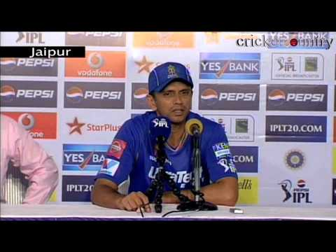 IPL 2013: Rahul Dravid lauds Rajasthan Royals' team effort after win over Punjab