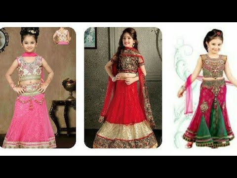 Choti Ladkiyon ka beautiful design lehenga choli latest fashion