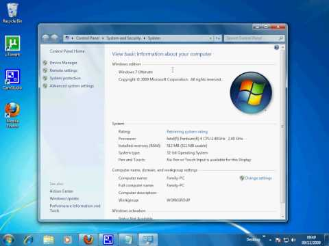Windows 7 Aero enable (ON ALL VERSIONS)