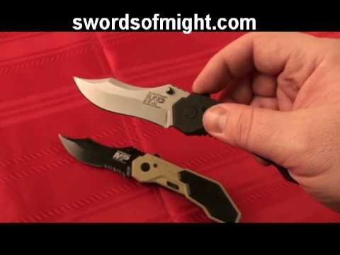 Smith and Wesson M&P Knife Review
