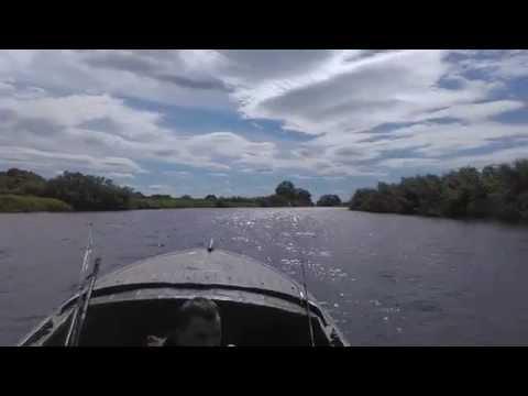 На рыбалке (казанка+Yamaha 15)