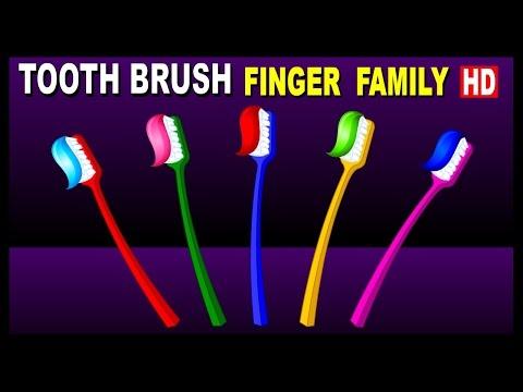 Tooth Brush Finger Family | Tooth Brush Finger Family Nursery Rhymes Songs For Children Kids