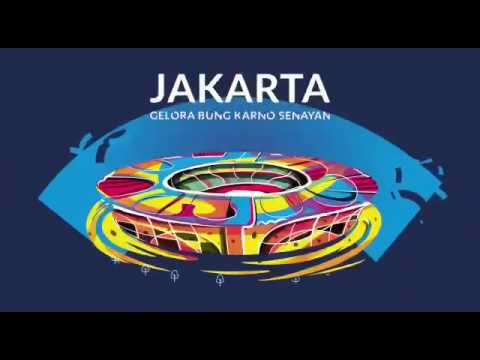 Inilah Asian Games  Di Indonesia Youtube