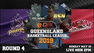 #QBL19 Round 4 - Pirates vs Meteors (Men)