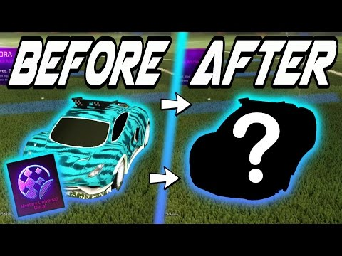 THEY CHANGED THESE Rocket League MYSTERY DECALS! - Nitro Crate Update Secrets/Trading