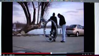 Monocycle in movies and reality