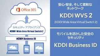 Office 365 with KDDI ネットワーク&セキュリティ編