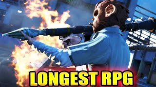 GTA V - THE LONGEST RPG SHOT EVER! (GTA 5 Online World Record)