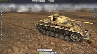 Tank Warfare Tunisia 1943 Вся техника и лёгкий обзор на игру 2017