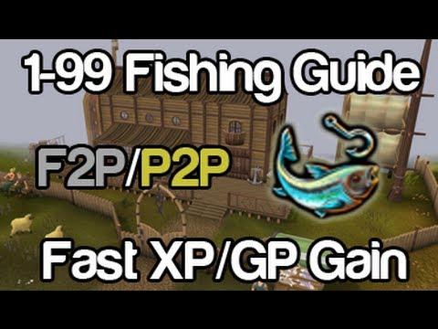 Runescape – 1-99 Fishing Guide | F2P & P2P | Fast xp & GP Gain (2012)