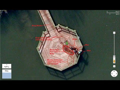 Google Maps: Men Dragging Dead Body Into Lake