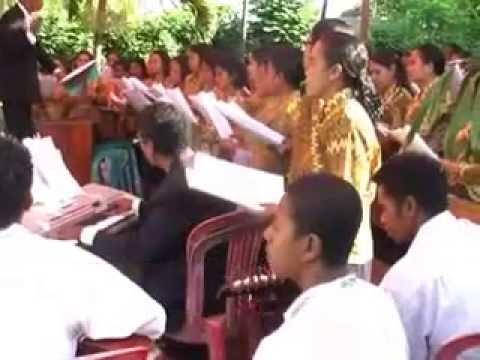 Lagu Paskah Daerah Flores Larantuka koda Milin Tegenetep video