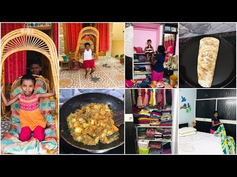 #DIML My Morning Routine Vlog/House Cleaning&Organization Vlog/Masala Dosa Recipe/Amulya's Kitchen