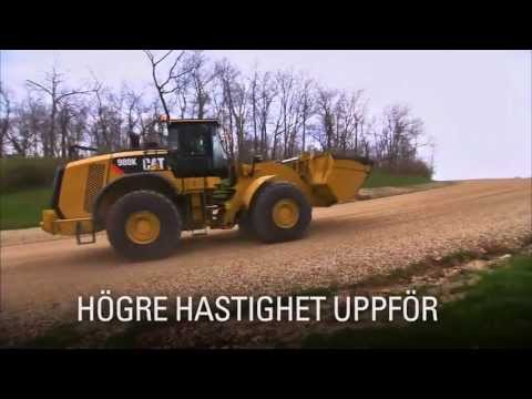 Cat K Series, High Efficiency Drive Train (SWEDISH)