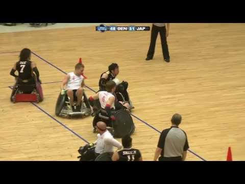 SPS Kørestolsrugby: Denmark Wheelchair Rugby Challenge 2013 - 5/6 Pladsen - Danmark Vs. Japan