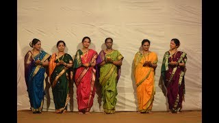9 Ladies Gp  Cultural Dance runanubandh 2018