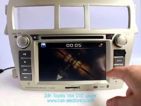 2Din Toyota Vios Headunit - Toyota Vios DVD Player