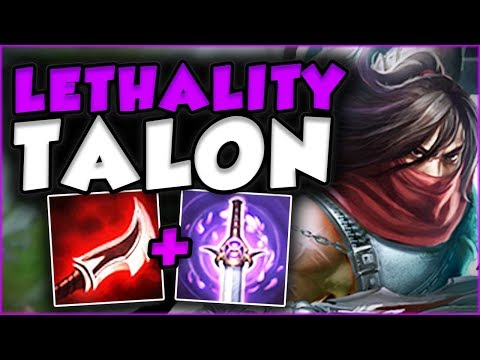 NEW DUSKBLADE ON TALON IS SO STUPID! LETHALITY TALON TOP GAMEPLAY SEASON 7! - League of Legends