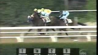 1997 Belmont Stakes - Silver Charm Denied Triple Crown