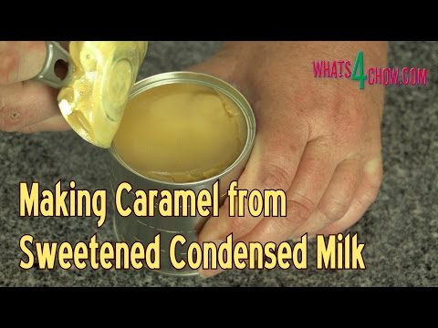 how to make sweetened condensed milk with powdered milk