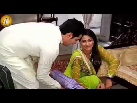 Akshara-naitik Romance On Sets Of 'yeh Rishta Kya Kehlata Hai'   On Location video