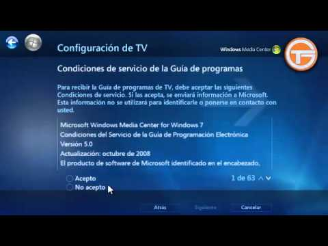 Configurar TV Digital / Analógica (Perú) en Windows Media Center  KWorld USB Hybrid TV