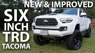 6 INCH Pro Comp Lifted 2018 Tacoma TRD - Under Warranty!!!