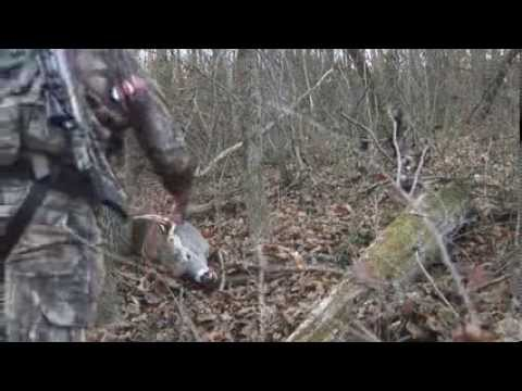 Deer Hunting, Nate Cline's 2013 Ohio 10 point!