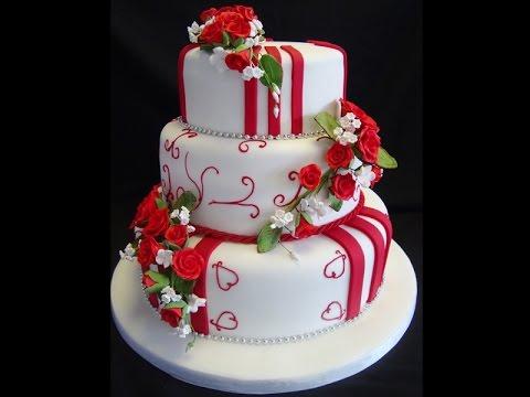 Pasteles de boda de tres pisos youtube - Decoraciones de pisos ...