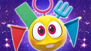 Learn DIY Crafts with Kit | Wonderballs Cartoons | Learning Videos For Babies | Cartoon Candy