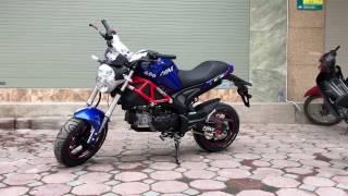 Xe máy Ducati Mini Monster kiểu dáng đẹp hơn Honda MSX125 ▶LH: 0979.66.22.88