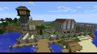 mine craft time-lapse DaBump Island part 1