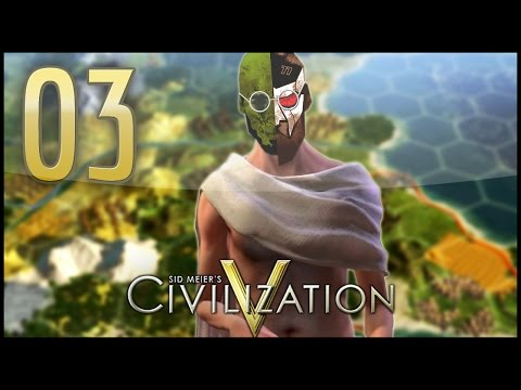Let's Multi Play Civilization V - India & Korea's Rise To Power - #3