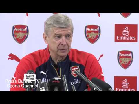 Arsene Wenger pre West Ham vs Arsenal