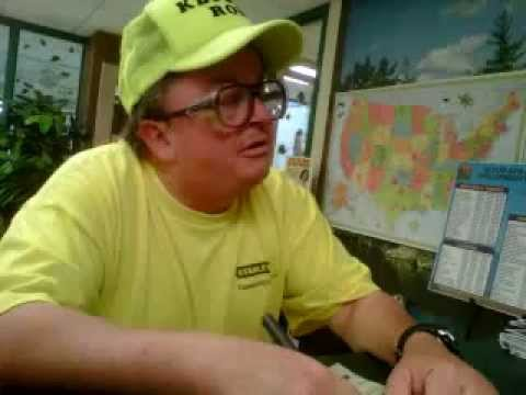 Ronald the ham radio man