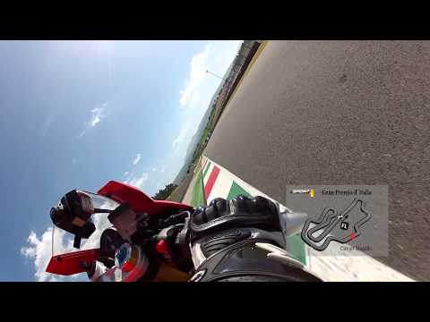 300 Km/h in Mugello ! Alex Hofmann auf der Aprilia RSV4 - Onboard Lap fr Sport 1 !