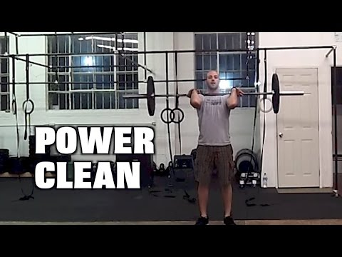 Paradiso CrossFit - Power Clean Image 1