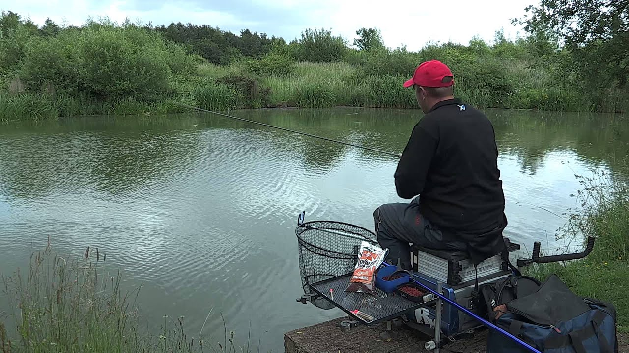 waggler fishing for carp