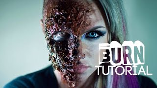 Gore Basics: Burns (Special FX Makeup Tutorial)