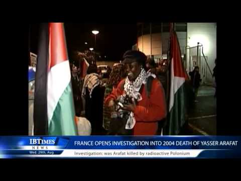 France opens investigation into 2004 death of Yasser Arafat